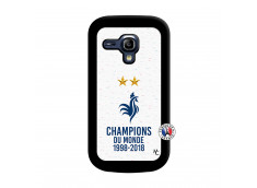 Coque Samsung Galaxy S3 Mini Champion Du Monde Noir