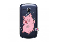 Coque Samsung Galaxy S3 Mini Pig Impact