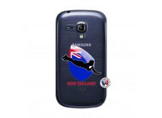 Coque Samsung Galaxy S3 Mini Coupe du Monde Rugby- Nouvelle Zélande