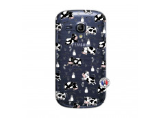 Coque Samsung Galaxy S3 Mini Cow Pattern