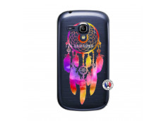 Coque Samsung Galaxy S3 Mini Dreamcatcher Rainbow Feathers