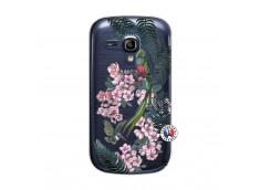 Coque Samsung Galaxy S3 Mini Flower Birds