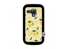 Coque Samsung Galaxy S3 Mini Sorbet Citron Noir