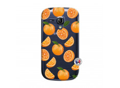Coque Samsung Galaxy S3 Mini Orange Gina