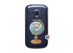 Coque Samsung Galaxy S3 Mini Globe Trotter