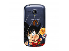 Coque Samsung Galaxy S3 Mini Goku Impact