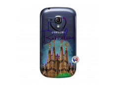 Coque Samsung Galaxy S3 Mini I Love Barcelona
