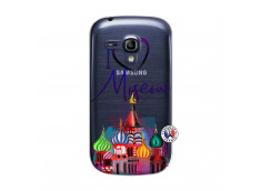 Coque Samsung Galaxy S3 Mini I Love Moscow