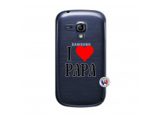 Coque Samsung Galaxy S3 Mini I Love Papa