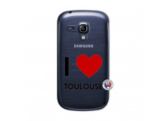 Coque Samsung Galaxy S3 Mini I Love Toulouse