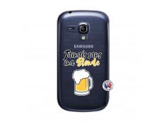 Coque Samsung Galaxy S3 Mini Jamais Sans Ma Blonde