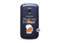 Coque Samsung Galaxy S3 Mini Jamais Sans Ma Rousse