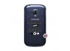 Coque Samsung Galaxy S3 Mini Je Dribble Comme Cristiano