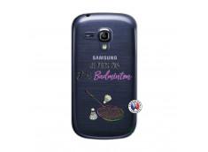 Coque Samsung Galaxy S3 Mini Je Peux Pas J Ai Badminton