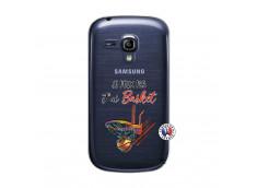 Coque Samsung Galaxy S3 Mini Je Peux Pas J Ai Basket