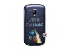 Coque Samsung Galaxy S3 Mini Je peux pas j'ai cricket