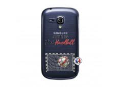 Coque Samsung Galaxy S3 Mini Je peux pas j'ai Handball