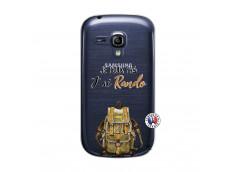 Coque Samsung Galaxy S3 Mini Je Peux Pas J Ai Rando