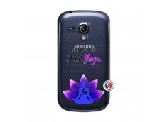 Coque Samsung Galaxy S3 Mini Je Peux Pas J Ai Yoga