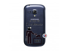 Coque Samsung Galaxy S3 Mini Je Peux Pas Je Suis Veterinaire