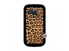 Coque Samsung Galaxy S3 Mini Leopard Style Noir