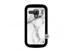 Coque Samsung Galaxy S3 Mini White Marble Noir