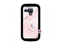 Coque Samsung Galaxy S3 Mini Marbre Rose Noir