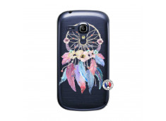 Coque Samsung Galaxy S3 Mini Multicolor Watercolor Floral Dreamcatcher