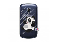 Coque Samsung Galaxy S3 Mini Panda Impact