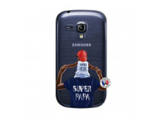 Coque Samsung Galaxy S3 Mini Papa Super Heros