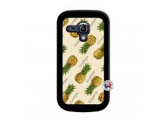 Coque Samsung Galaxy S3 Mini Sorbet Ananas Noir