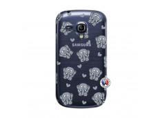 Coque Samsung Galaxy S3 Mini Petits Elephants