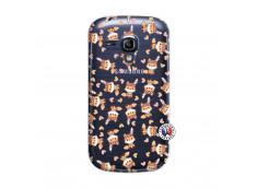 Coque Samsung Galaxy S3 Mini Petits Renards