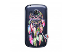 Coque Samsung Galaxy S3 Mini Pink Painted Dreamcatcher