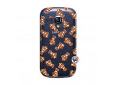 Coque Samsung Galaxy S3 Mini Petits Poissons Clown