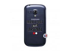 Coque Samsung Galaxy S3 Mini Rien A Foot Allez Arsenal