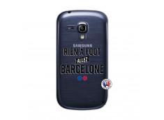Coque Samsung Galaxy S3 Mini Rien A Foot Allez Barcelone