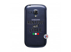 Coque Samsung Galaxy S3 Mini Rien A Foot Allez L'Italie