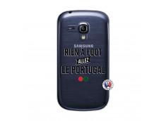Coque Samsung Galaxy S3 Mini Rien A Foot Allez Le Portugal