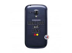 Coque Samsung Galaxy S3 Mini Rien A Foot Allez Lens