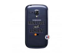 Coque Samsung Galaxy S3 Mini Rien A Foot Allez Lorient