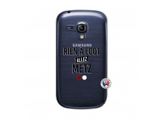 Coque Samsung Galaxy S3 Mini Rien A Foot Allez Metz