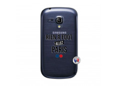 Coque Samsung Galaxy S3 Mini Rien A Foot Allez Paris