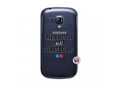 Coque Samsung Galaxy S3 Mini Rien A Foot Allez Strasbourg