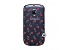 Coque Samsung Galaxy S3 Mini Rose Pattern