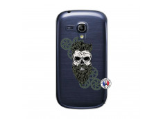 Coque Samsung Galaxy S3 Mini Skull Hipster