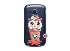 Coque Samsung Galaxy S3 Mini Catpucino Ice Cream