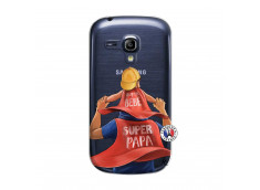 Coque Samsung Galaxy S3 Mini Super Papa et Super Bébé