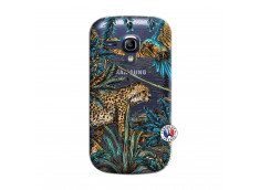 Coque Samsung Galaxy S3 Mini Leopard Jungle