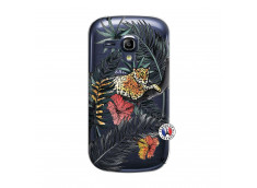 Coque Samsung Galaxy S3 Mini Leopard Tree